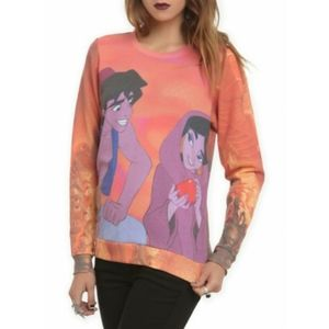 Hot Topic Tops - Disney Aladdin Street Portrait Long Sleeve Top